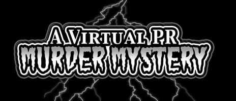 Virtual PR Murder Mystery Logo